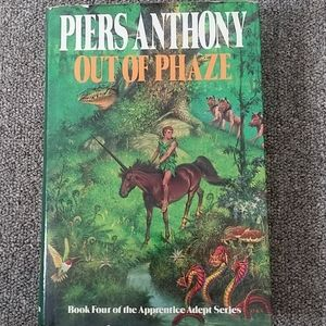 Vintage Accents - Out of Phaze by Piers Anthony vintage Book